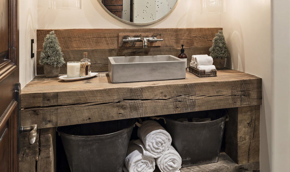 Make a Statement in Your Powder Bathroom!