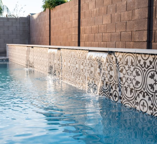 Longhorn Pool and Landscaping