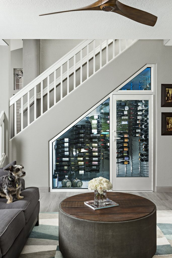 Creative ways to utilize space to install a wine cellar - Wine cellar designs for small spaces ...