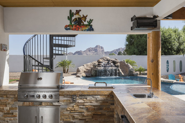 Arizona Outdoor Kitchen Design
