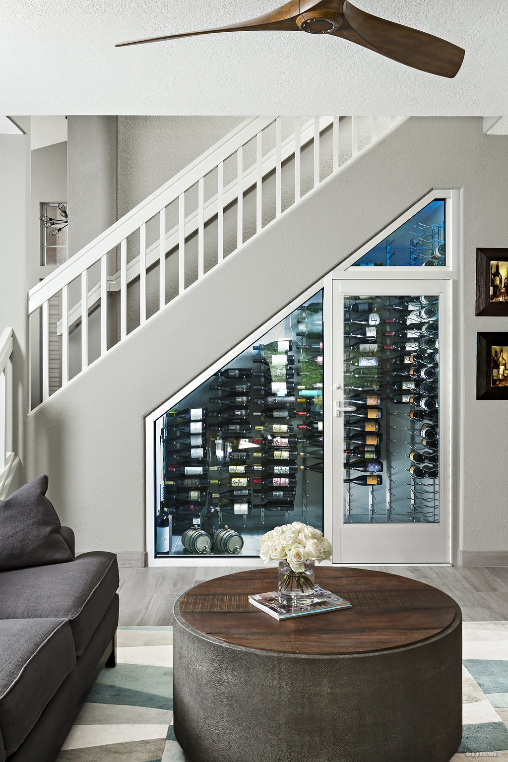 Lighting Basement Washroom Stairs: Creative Ways To Utilize Space To Install A Wine Cellar